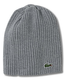 Lacoste Beanie, Ribbed Beanie