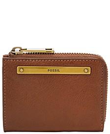 Women's Liza Mini Leather Zip Wallet