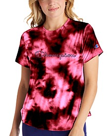 Women's Double Dry Tie-Dyed T-Shirt