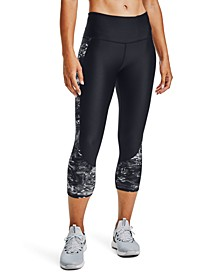 Women's HeatGear® Compression High-Rise Capri Leggings