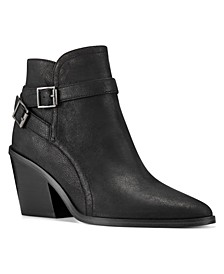 Women's Medium Scala Western Booties