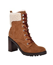 Women's Medium Perli Heeled Booties