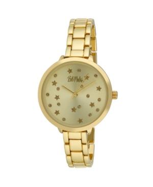 Women's Gold-Tone Alloy Bracelet Link Watch