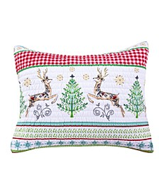 Comet & Cupid Quilted Standard Sham