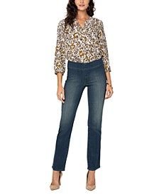 Marilyn Sure Stretch® Denim Straight-Leg Jeans