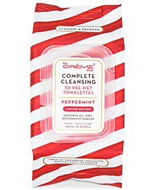 Peppermint Complete Cleansing Towelettes