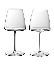 Metro Chic Red Wine Glasses - Set of 2