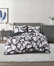 Anaya Printed 3 Piece Comforter Set