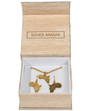 Mama Africa Earring And Necklace Set