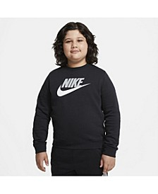 Big Boys Sportswear Club Fleece Crew (Extended Size)