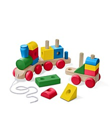 Wooden Jumbo Stacking Train Classic