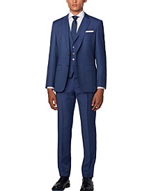 BOSS Men's Hutson5/Gander3 Slim-Fit Vested Suit