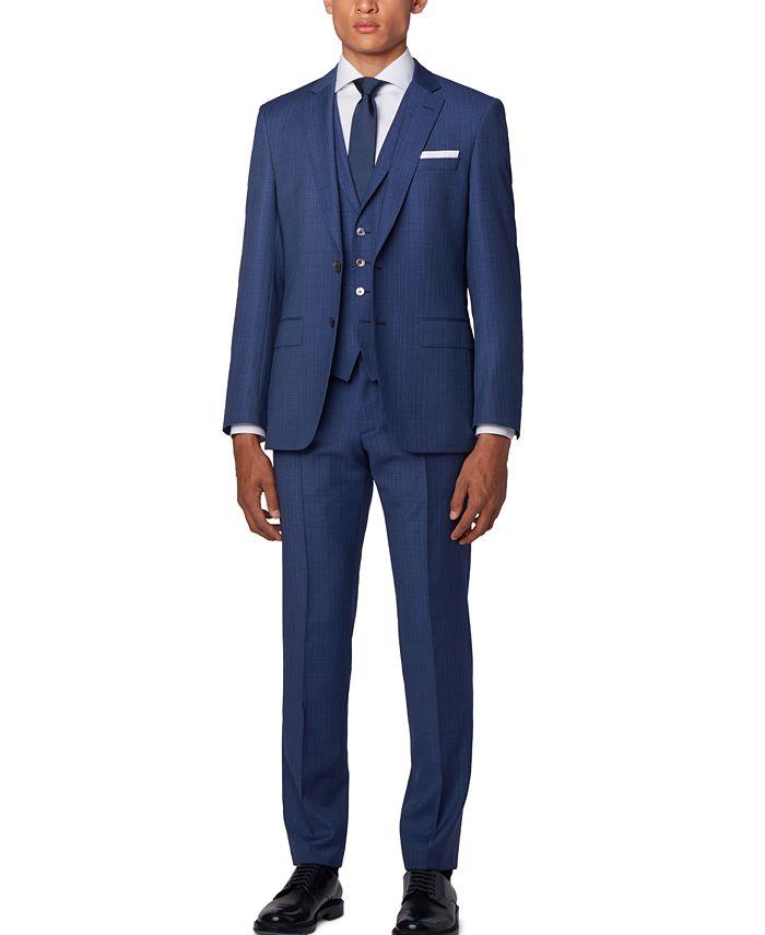 Hugo Boss - Men's Hutson5/Gander3 Slim-Fit Three-Piece Suit