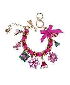 Festive Mixed Charm Bracelet