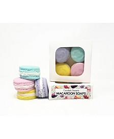 4-Piece Macaroon Soap Set