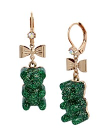Festive Gummy Bear Drop Earrings