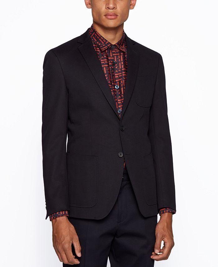 Hugo Boss - Men's Raye8 Extra-Slim-Fit Jacket