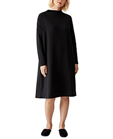 Long-Sleeve Shift Dress