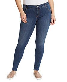 Gloria Vanderbilt Women's Plus Size Midrise Skinny Jeans