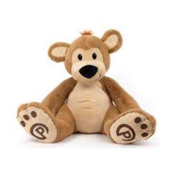 Plushible Pawley Teddy Bear Stuffed Toy
