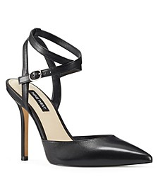 Brya Women's Ankle Strap Pumps