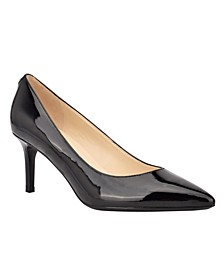 Dazy Women's Pointy Toe Pumps