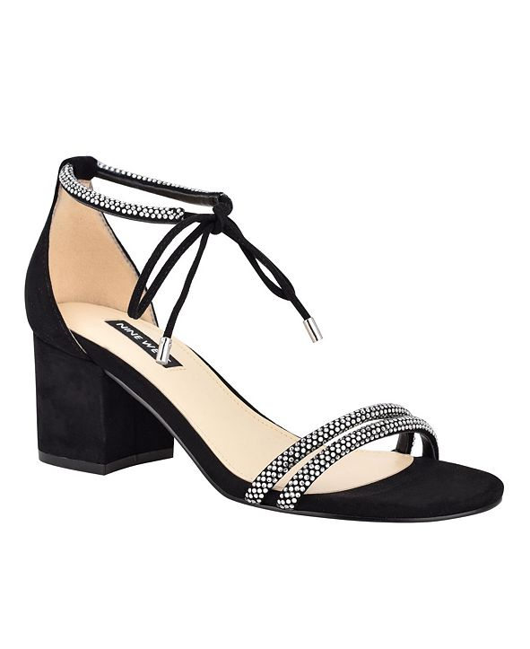 Nine West Keiko Women's Ankle Tie Dress Sandals