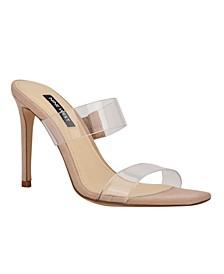 Zarley Women's Heeled Slide Sandals