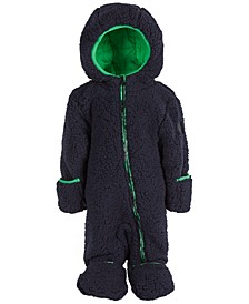 Baby Boys Sherpa Fleece Coverall