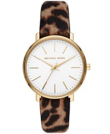 Women's Pyper Cheetah Calf Hair Watch 38mm