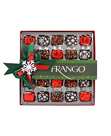 Holiday Deco Dark Mint 25 Piece Box of Chocolates