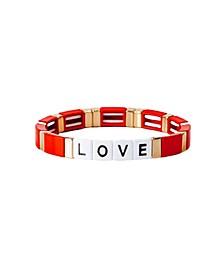 Block Love Bracelet