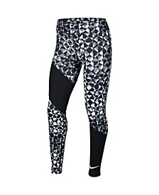 Trophy Big Girl's Printed Training Tights