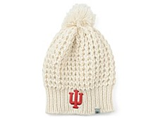 Indiana Hoosiers Women's Fur Pom Knit