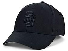 San Diego Padres Black Black MVP Cap