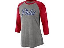 Philadelphia 76ers Women's Three Quarter Statement Raglan Shirt