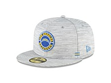 Los Angeles Chargers On-Field Sideline 59FIFTY Cap