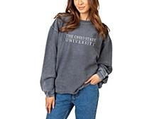 UG Apparel Women's Ohio State Buckeyes Corded Crew Sweatshirt