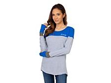 UG Apparel Women's Kentucky Wildcats Colorblocked Long-Sleeve T-Shirt