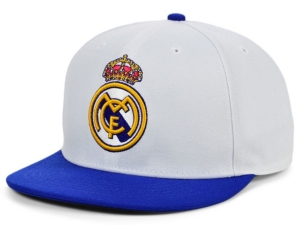 Real Madrid Team Logo Snapback Cap