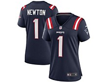Cam Newton New England Patriots NFL Women's Game Jersey
