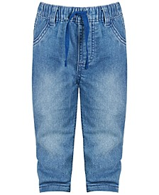 Baby Boys Denim Cuff Jeans, Created for Macy's