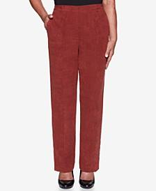 Petite Catwalk Faux-Suede Proportioned Short Pants
