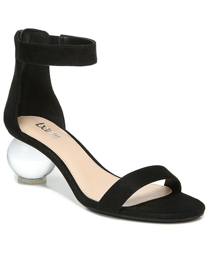 Bar III - Cheryyl Ball-Heel Sandals