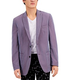 INC Men's Jack Iridescent Slim Fit Blazer, Created for Macy's