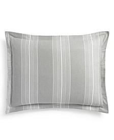Modern Stripe King Sham, Created for Macys