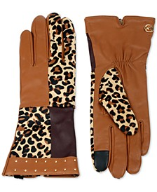 Cheetah Patchwork Gloves