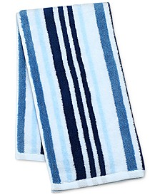 "Elite Cotton Tri-Stripe 16"" x 30"" Hand Towel, Created for Macy's"