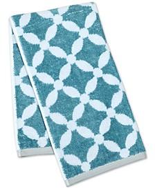 "Dot Lattice 16"" x 28"" Hand Towel, Created for Macy's"