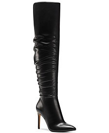 INC Women's Iyonna Over-The-Knee Slouch Boots, Created for Macy's